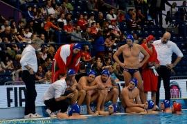 European Water Polo Championship Greece VS Hungary
