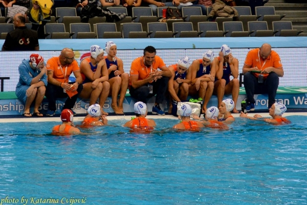 European Water Polo Championship Holland - Hungary sportphotography