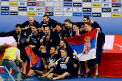European Water Polo Championship final Serbia - Montenegro